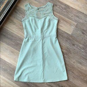 Pastel green Lauren Conrad dress